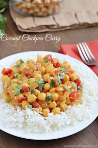 Coconut Chickpea Cur