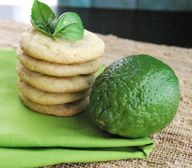 Basil Lime Cookies.