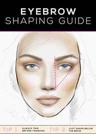 eyebrow shaping...