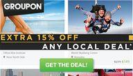 Extra 15% of Groupon