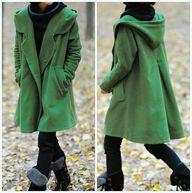 grass green Hoodie W
