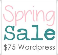 $75 WordPress Spring