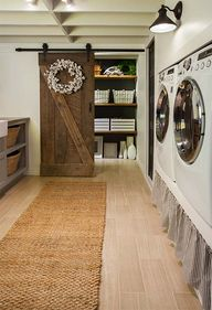 basement laundry room - Cozy cottage farmhouse style dwelling in the California foothills