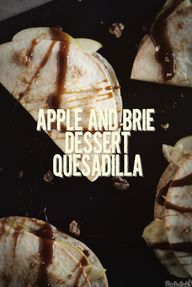 Apple and Brie Desse