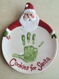 Love this Santa plat