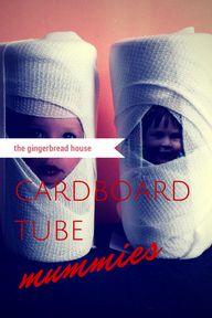 cardboard tube mummi