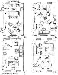 how to arrange furniture in a narrow living room - Google Search
