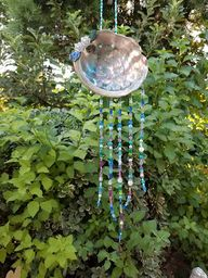 Dragonfly Treasure: Abalone Suncatcher