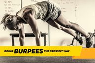 Burpees In Cross Fit...