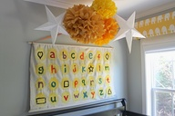 DIY Nursery Alphabet