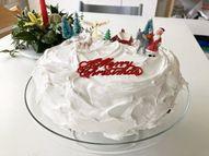 Easy Christmas Cake Royal Icing recipe - Becky Freeman Lifestyle