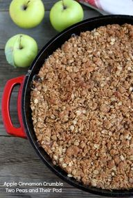 Apple Cinnamon Crumb