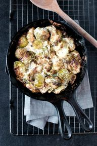 Baked Brussels Sprou