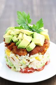 Cobb Salad Tower!