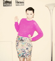 Pink jumper availabl