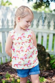 Girl's tunic tank wi...