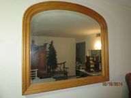 Arched top mirror
