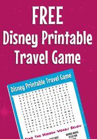 Free Disney Printabl