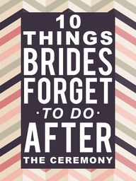 10 Things Brides For