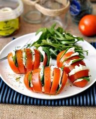 Fresh tomatoes with