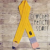Crochet Pencil Scarf - Sew Crafty Crochet