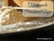 How to Make Powdered
