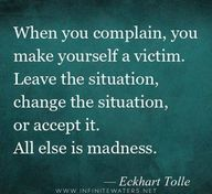 when you complain, y