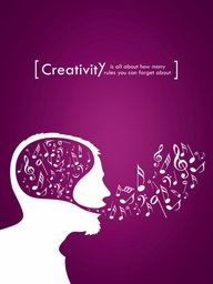 creativity is about