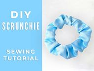 DIY How to Make a Scrunchie + 6 Variations to Wow Everyone