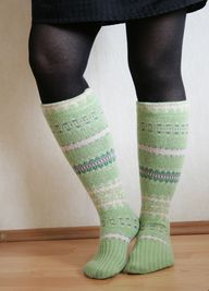 DIY Upcycled Socks f