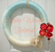 Ombre Wreath Tutoria