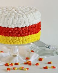 Candy Corn Cake! Fu