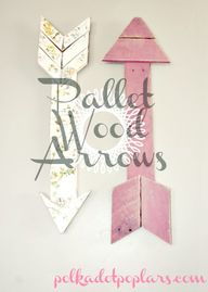 Pallet Wood Arrows