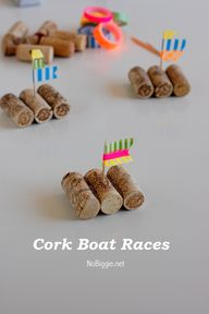 Cork Boats for Racin