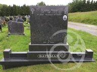 Rustenburg Granite stone with kerbing