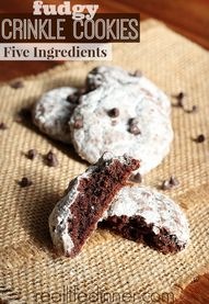 Fudgy Crinkle Cookie