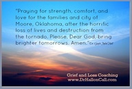 ''Praying for streng