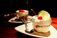 Key Lime Mousse and