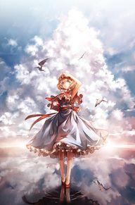 anime girl art...
