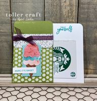 Sweet Ice Cream Gift Card Holder