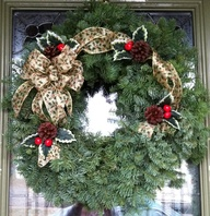 "The ""Lodge"" Wreath m"