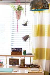 Stripe Citron Shower