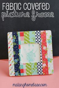 Fabric Covered Pictu