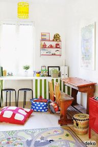 Eclectic playroom /