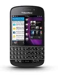 BlackBerry Q10 with
