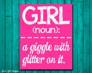 Girl Wall Art - Girl
