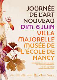 🔸 World Art Nouveau Day 2021 🔸 [NANCY – FRANCE] 𝗢𝘃𝗲𝗿𝘃𝗶𝗲𝘄 𝗼𝗳 𝘁𝗵𝗲 𝗮𝗰𝘁𝗶𝘃𝗶𝘁𝗶𝗲𝘀 proposed by the Musée de lÉcole de Nancy - officiel for World Art Nouveau Day 🥳 Nancy celebrated World Art Nouveau Day on 6 June! To find out what they proposed, have a look at their Facebook page!