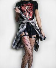 Grunge Sourpuss Clothing Collaboration ~ Bloodsucker Tee