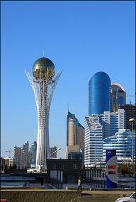 Astana, the capital