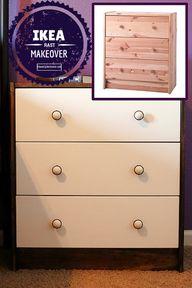 IKEA RAST makeover -